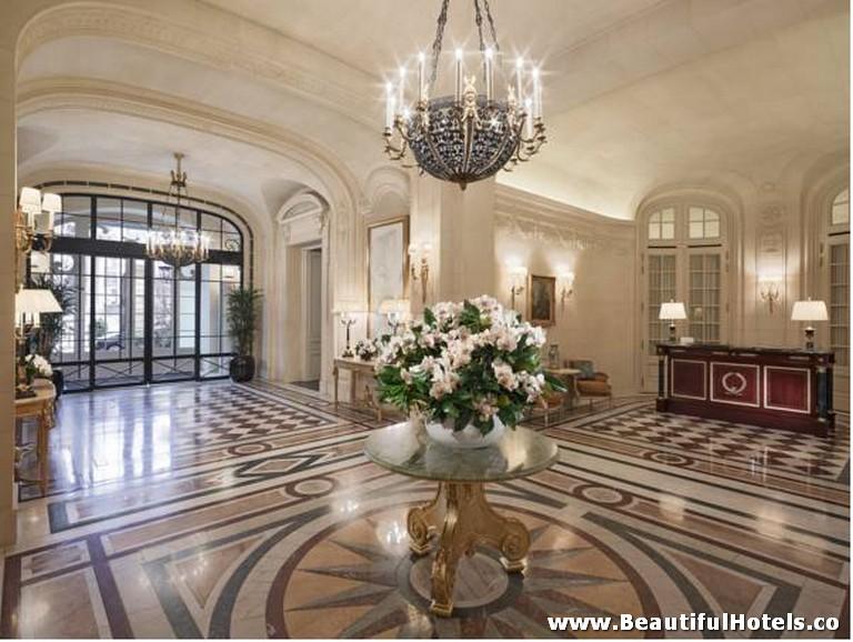 Shangri-La Hotel (Paris, France) 6