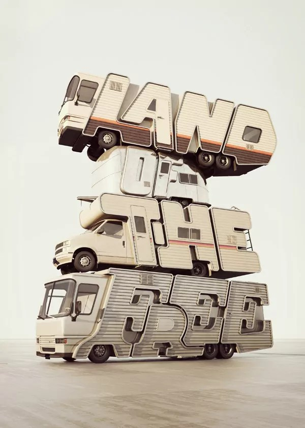 Chris LaBrooy typography