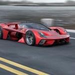 Absolutely Gorgeous Ferrari F399 Concept Car By Sabino Leerentveld