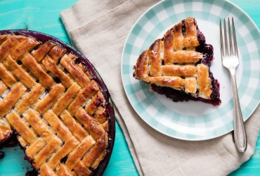This classic blueberry pie has a pitch-perfect filling that's loaded with intense berry flavor. Thanks to the ratio of fruit to tapioca starch and sugar.