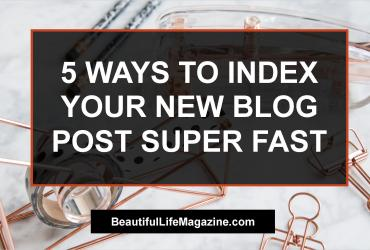How to Get Index Your New Blog Post Fast? Here I write a detail post on getting your next blog post index super fast in Google or any search engine.