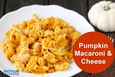 Pumpkin Macaroni and cheese. Silky, savory pumpkinis the ideal addition to a host of creamy pastas,like this elevated macaroni and cheese.