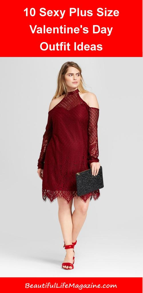 10 Sexy Plus Size Valentine's Day Outfit Ideas. Valentine's Day is right around the corner, what are you wearing? Whether you subscribe to Hallmark holiday's or not, it's fun to dress up for date night. Date with your mate or girls night out - either way, it's a good time.