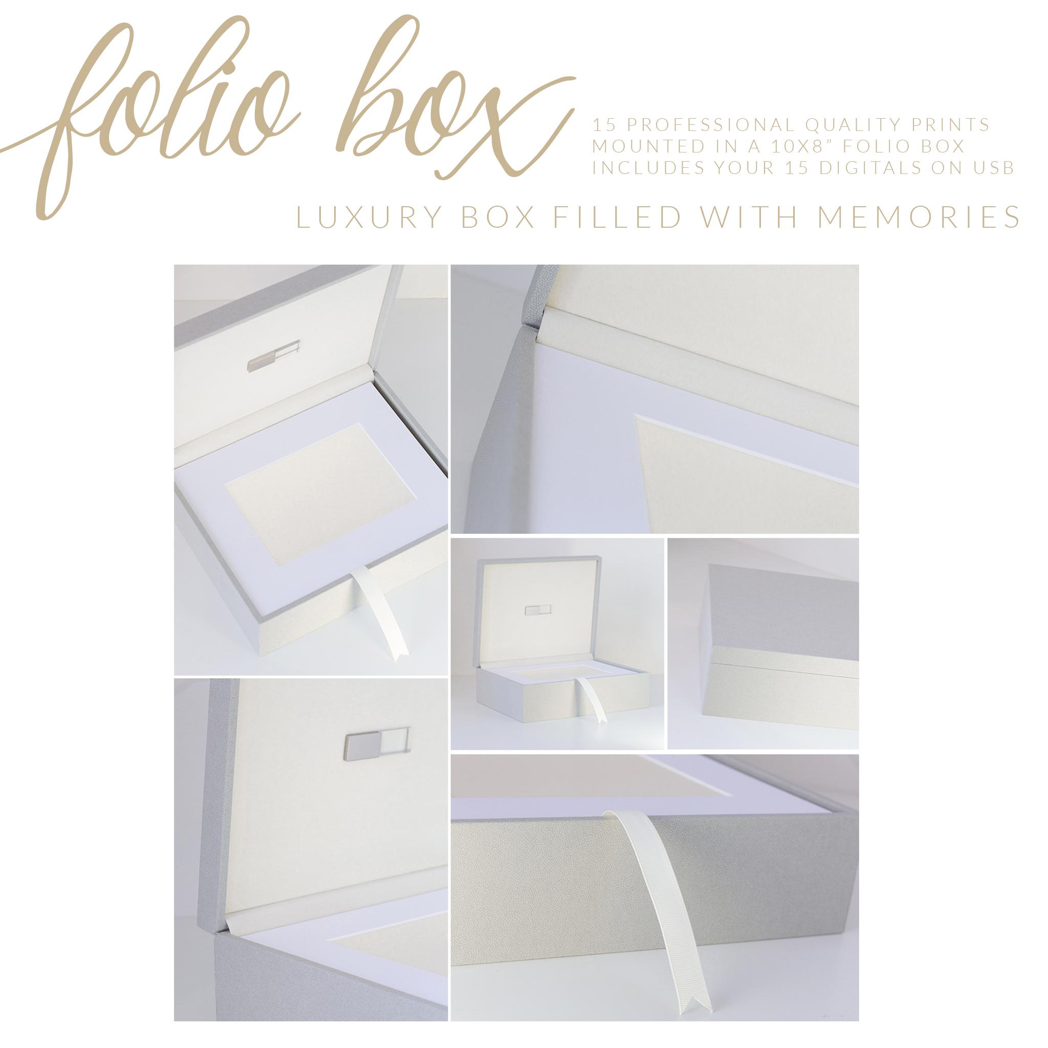 milestone folio box