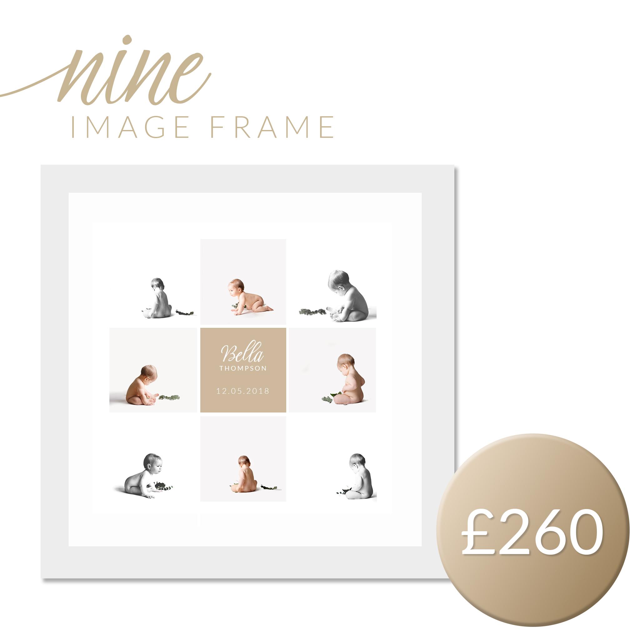 nine image frame