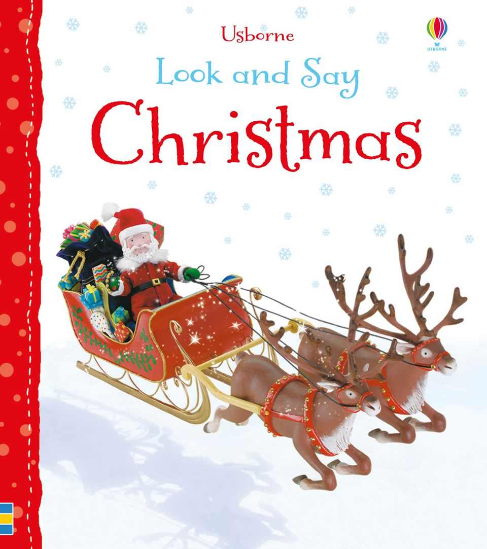 Look & Say Christmas Usborne Books