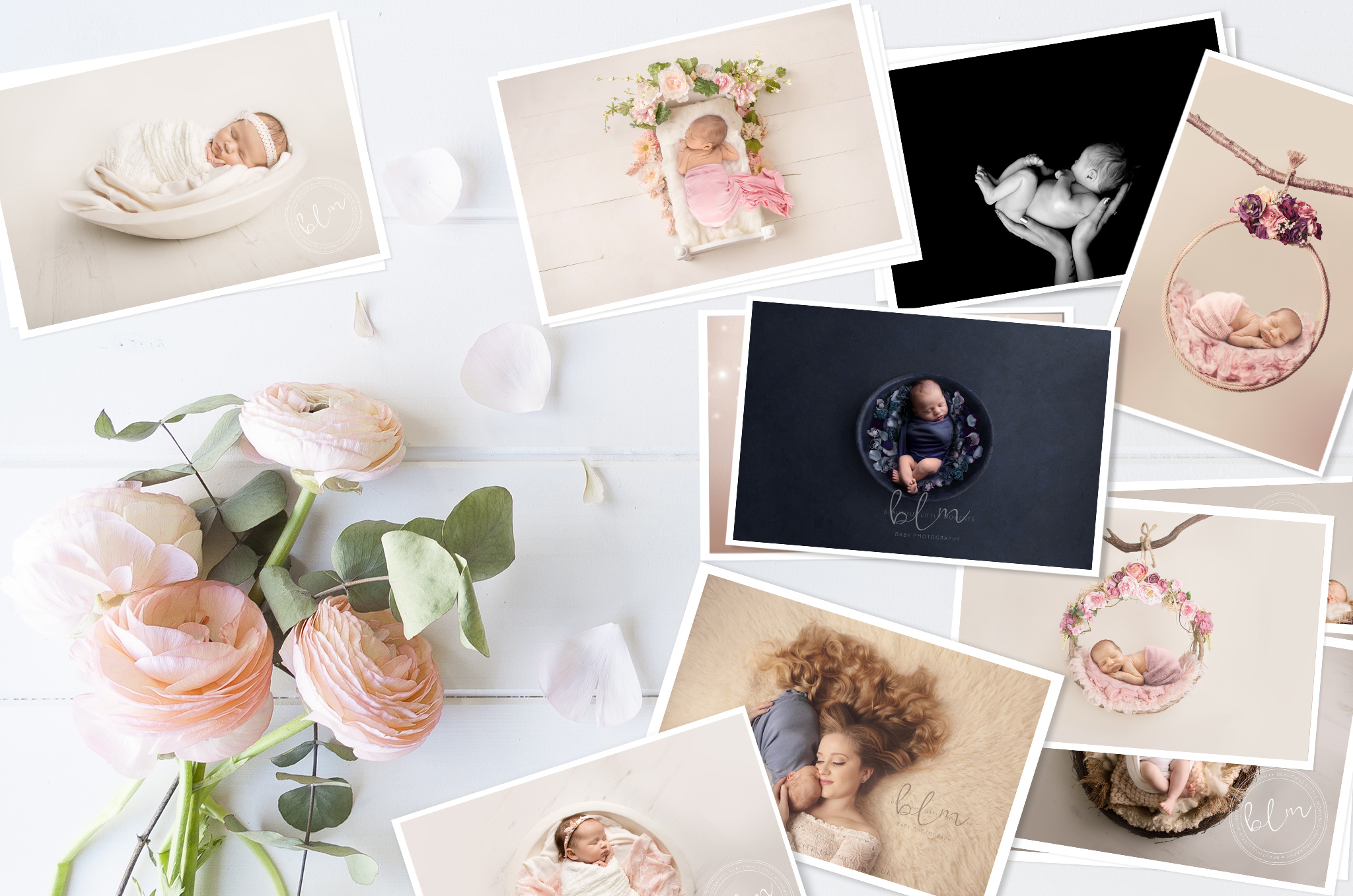 Beautiful Baby Photographs Package options