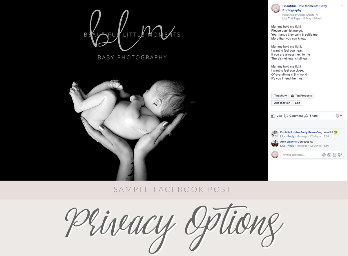 Beautiful Baby Photographs Online Privacy