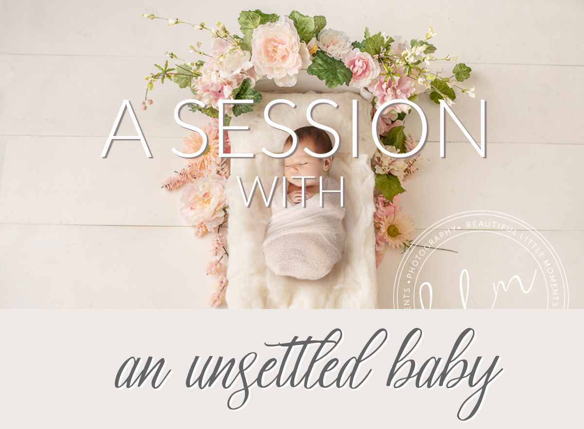 Beautiful Baby Photographs Unsettled Baby