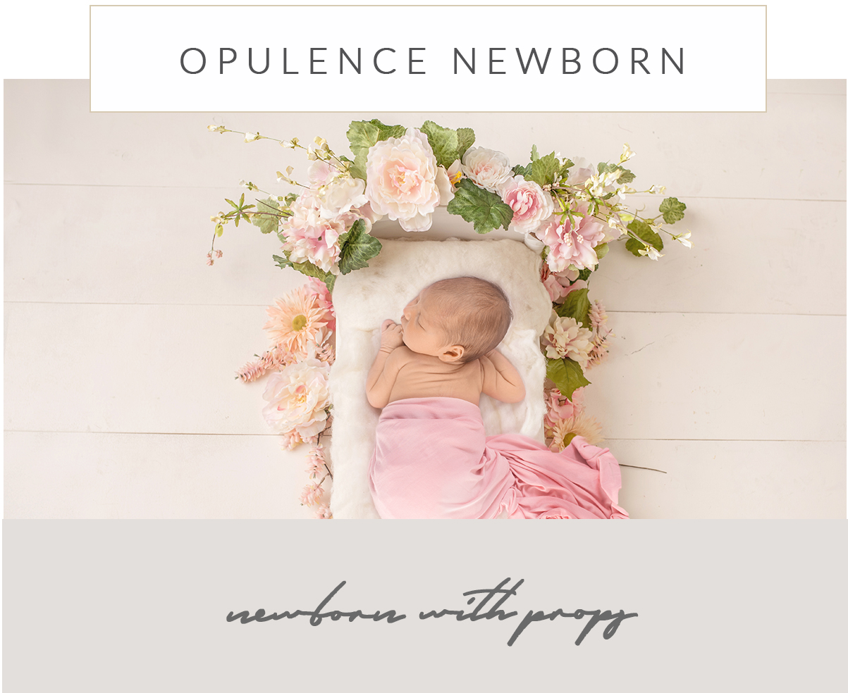 opulence newborn photography with props epsom surrey