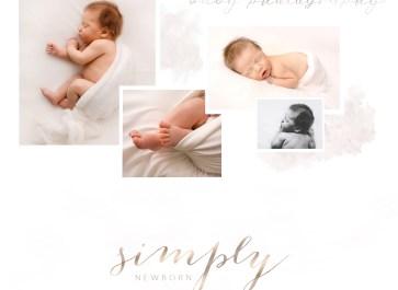 Simply newborn baby photography sample gallery