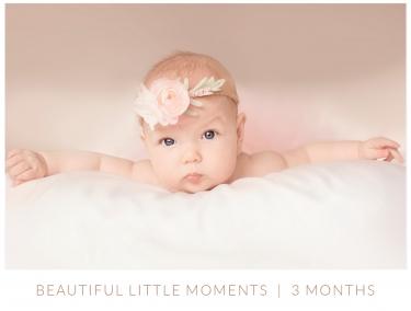 3 month baby milestone photography surrey