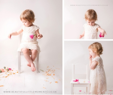 girl-photoshoot-birthday-pink-petals-flowers-epsom-surrey