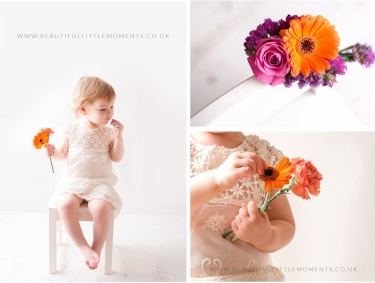 girl-photoshoot-peach-orange-petals-flowers-epsom-surrey