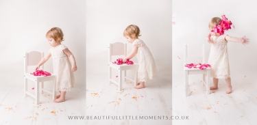 girl-photoshoot-pink-petals-flowers-epsom-surrey-2