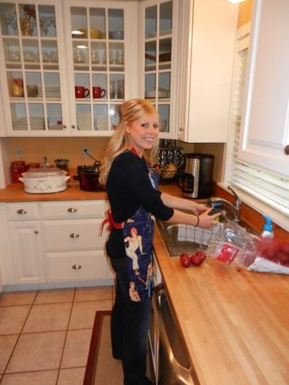 melanie in the kitchen