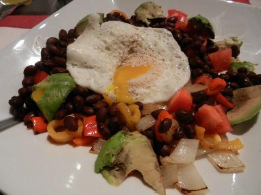 veggies with egg