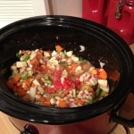 Low-Fat Vegetable Soup in the Slow Cooker