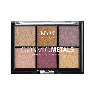 metallic oogschaduw CosmicMetalsNYX