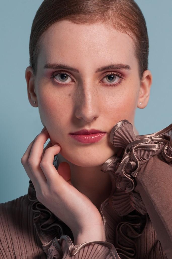 fotoshoot met visagie , make-up en hairstyling fotoshoot