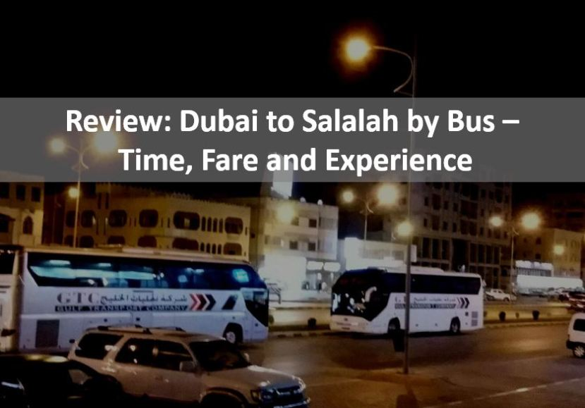Dubai to Salalah by bus