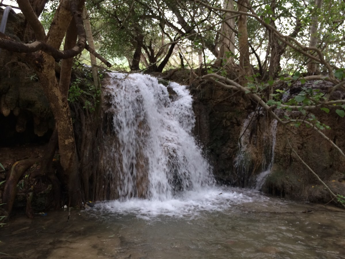 Salalah Waterfalls in khareef