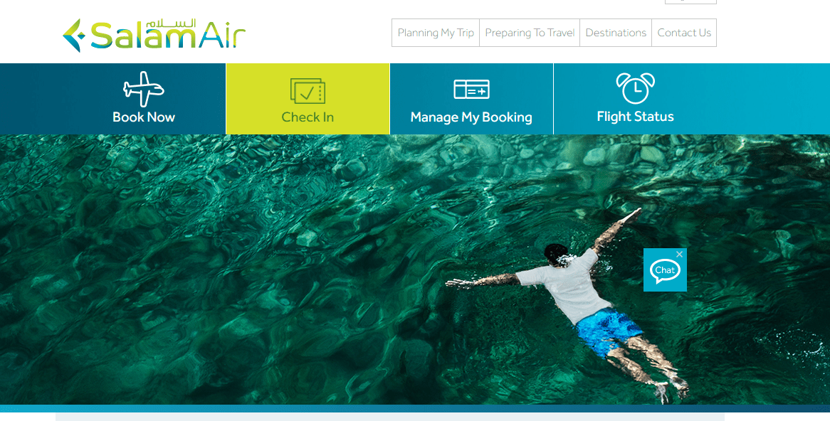 Salam Air Booking Online | Best way to Book your Flight