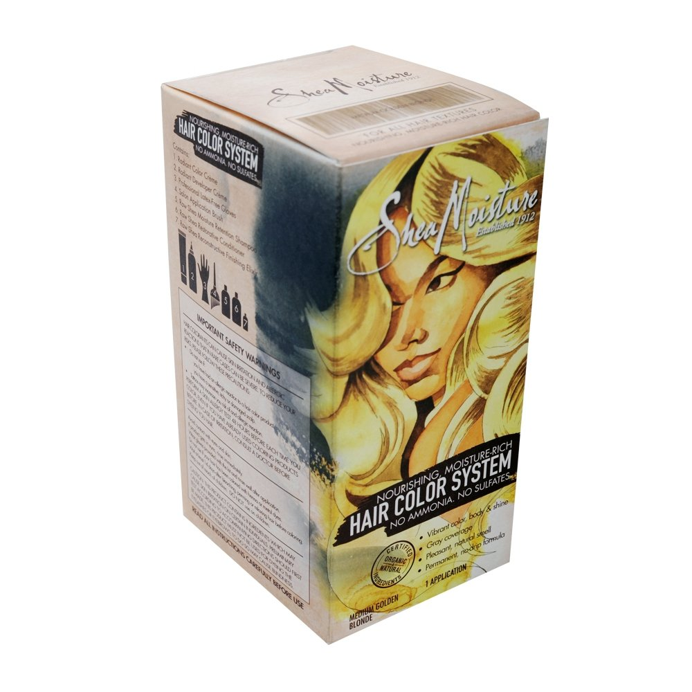 Hair Color System Medium Golden Blonde Beautiphic