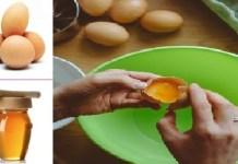 eggs and honey