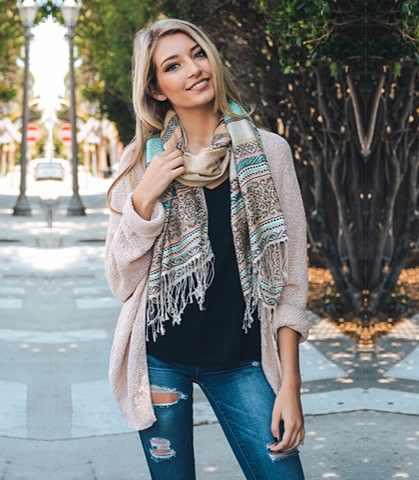 loose scarves