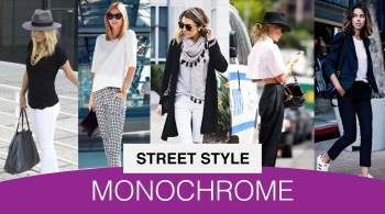 Monochrome Black and White Outfits