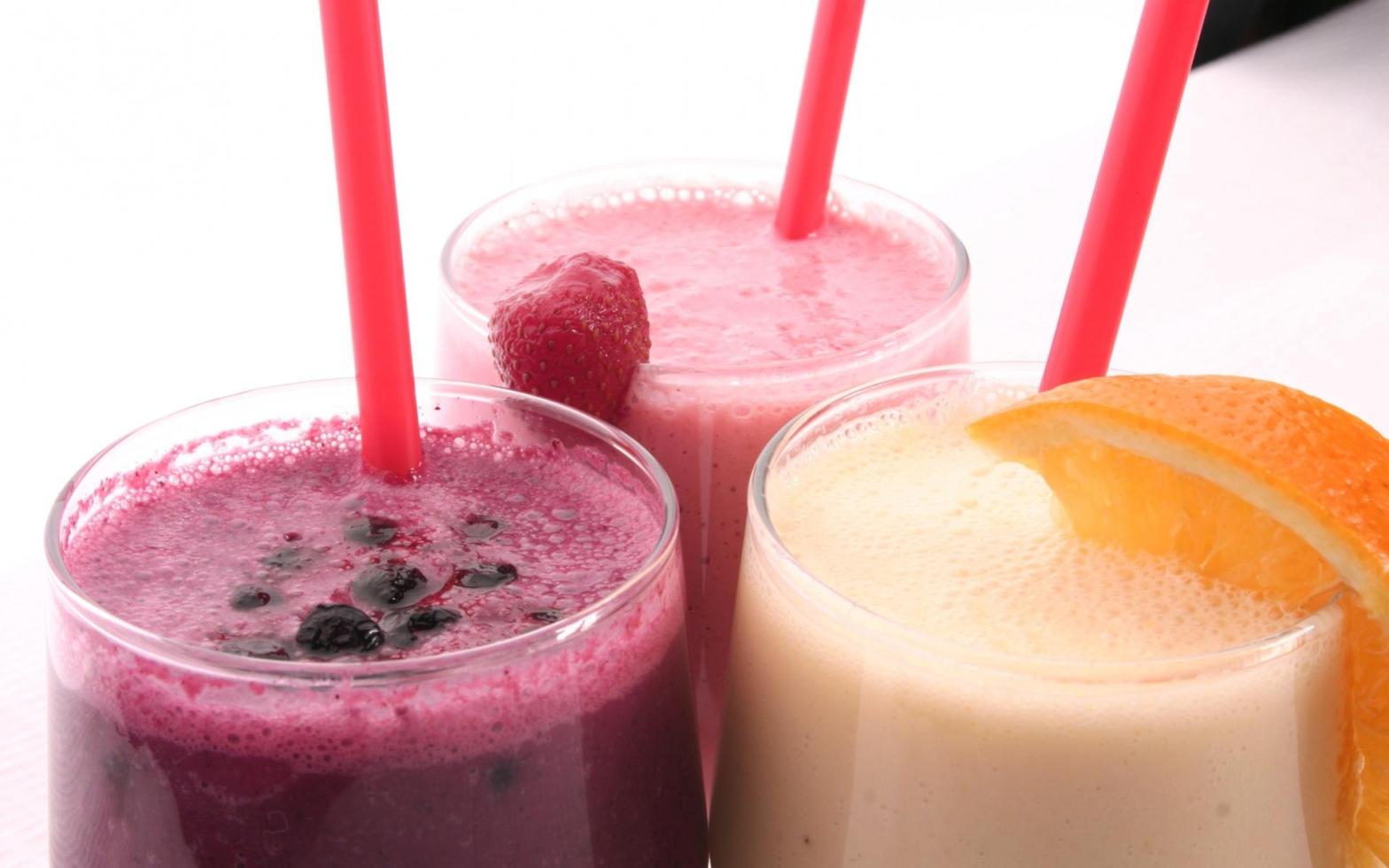 Smoothie glasses