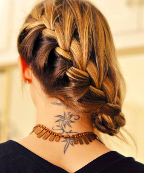 The french side braid hairstyle