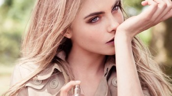Cara Delevingne Burberry Woman