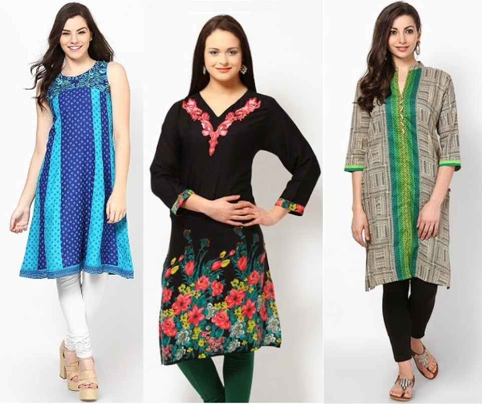 Kurti for your shape body