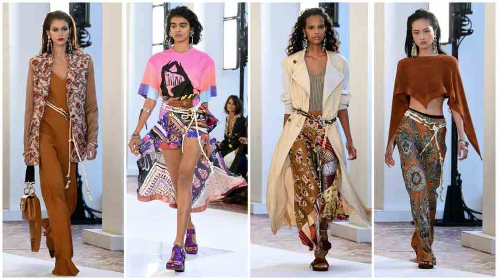 Paris Fashion Week: Hippie modernism meets the Mediterranean in Chloé's spring and summer 2019 collection