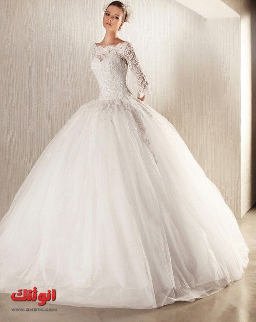 موضه فساتين الزفاف 2013