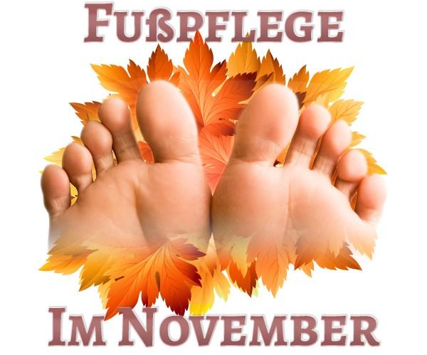 Fusspflege im November