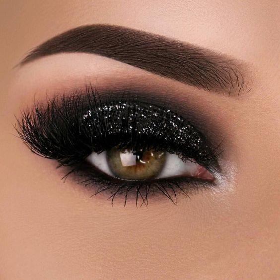 10 passo para fazer um olho preto esfumado + inspirações