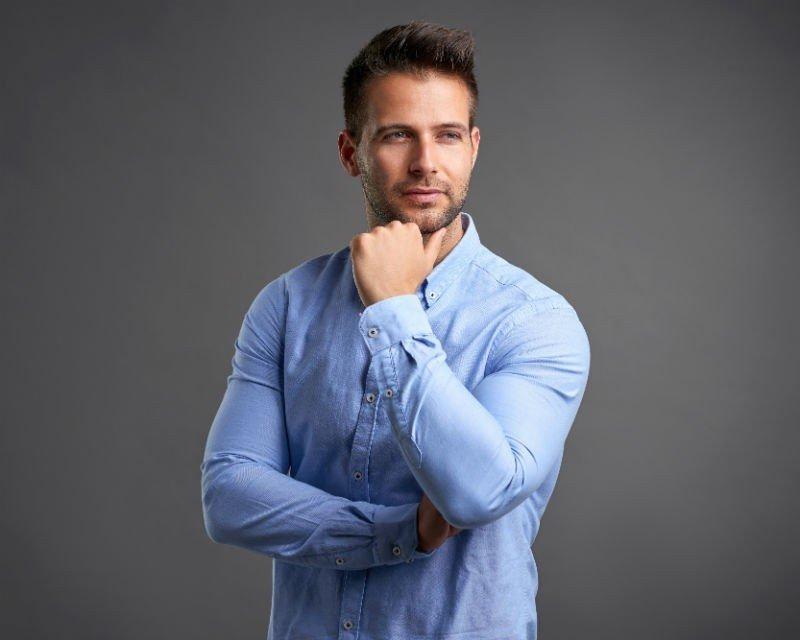 usuwanie zmarszczek u mężczyzn karboksyterapia