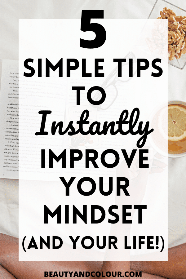 healthy habits positive mindset tips