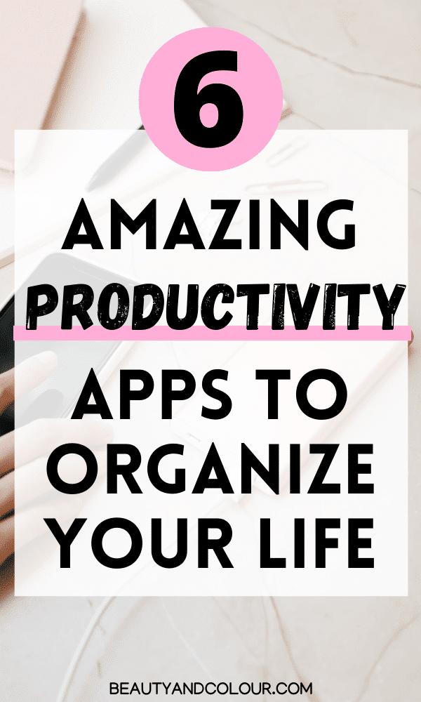 best productivity personal development apps
