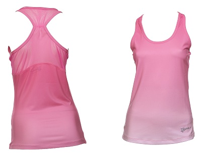 Burn Tank with Mesh Detailing Back- AED 85