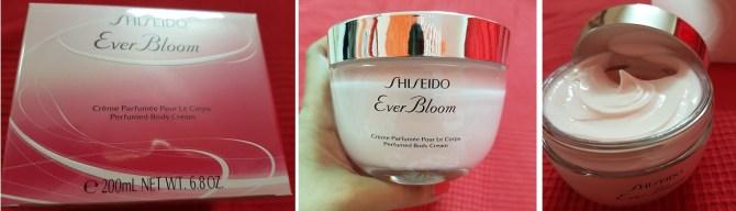 shiseido ever bloom fragrance body cream