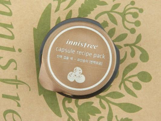 Innisfree Capsule Recipe Pack Jeju Volcano Review