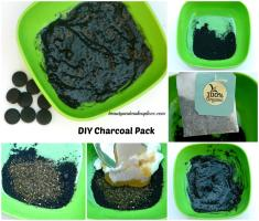 DIY Charcoal Pack
