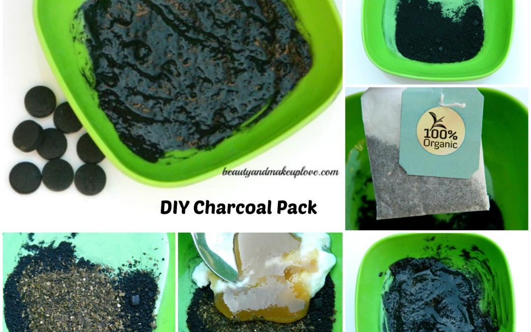 DIY Charcoal Pack: Easy DIY To Detoxify Your Skin