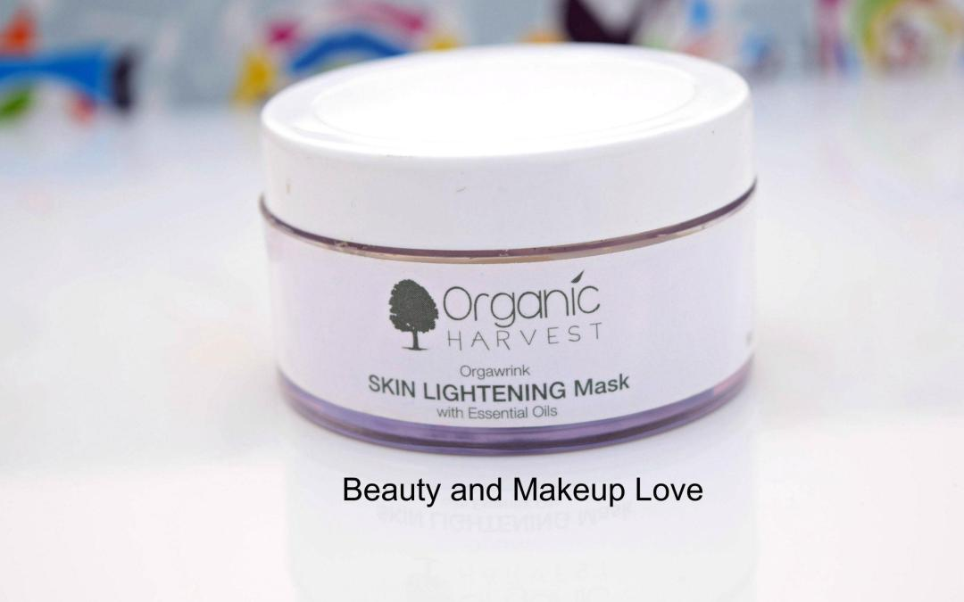 Organic Harvest Skin Lightening Mask Review