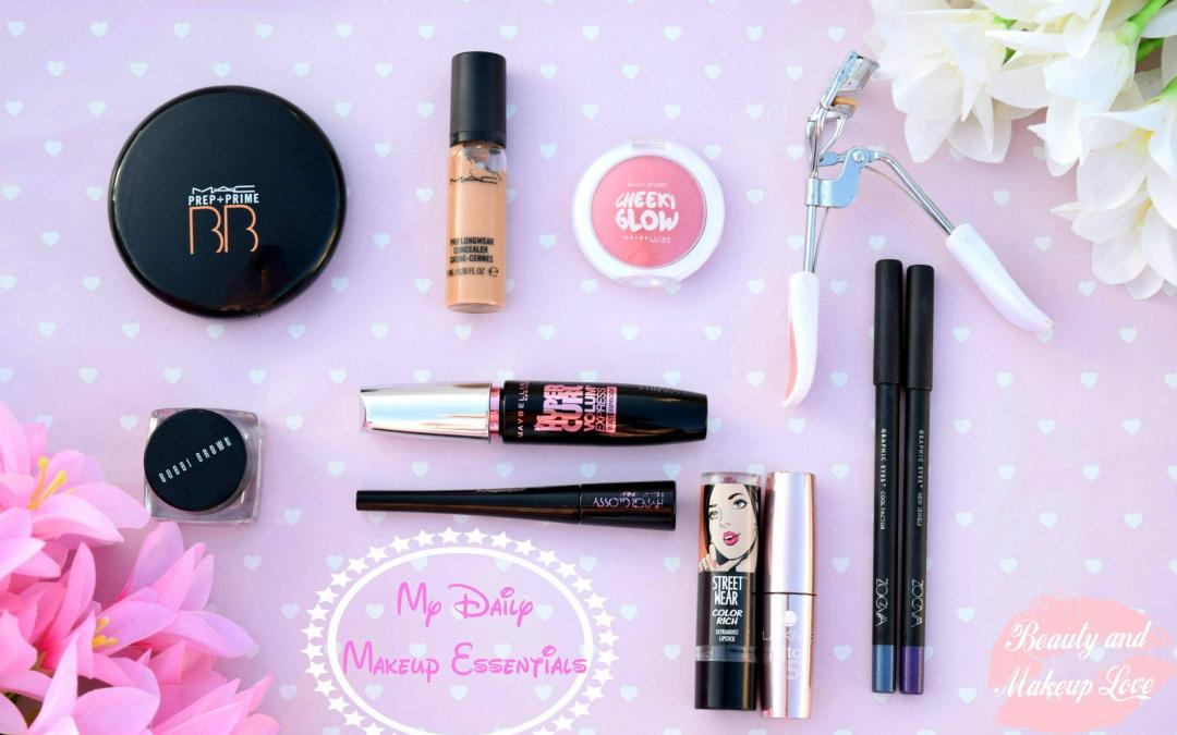 My Daily Makeup Essentials