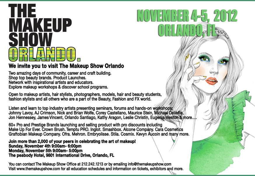 Giveaway: Win A Free Ticket To The Makeup Show Orlando